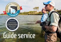 servizio guida di pesca trote di mare lucci fyn danimarca