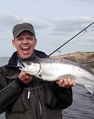 niklas albrechtsen guide for denmark fishing lodge