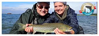 sea trout guide fyn lodge