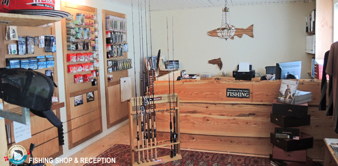 Lodge fishing shop