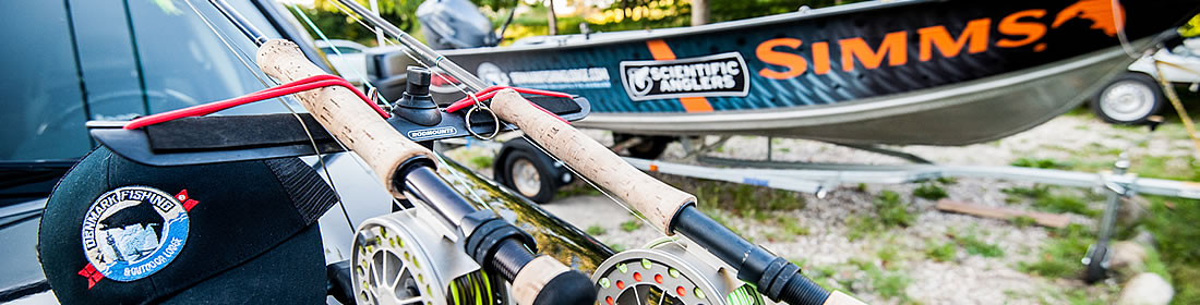 prepare your fishing trip at our lodge, the best place for sea trout fishing in Europe