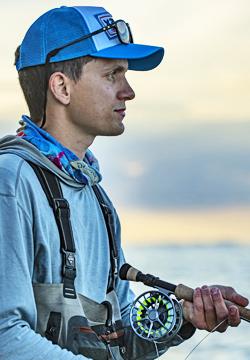 Jan Nachtigal trota di mare guida di pesca fyn